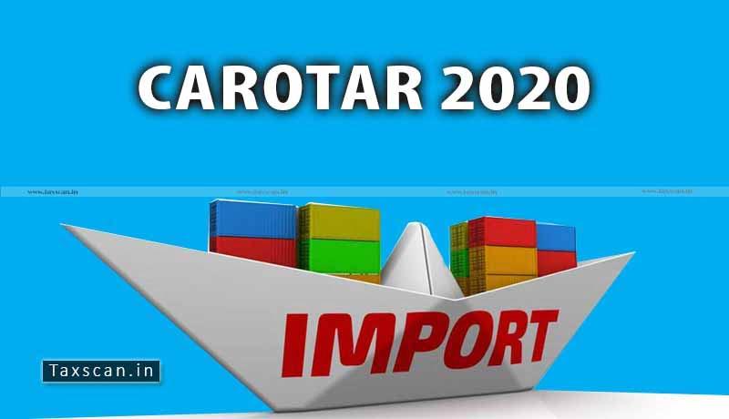 CAROTAR 2020 - CBIC - Provisional Assessment - Taxscan
