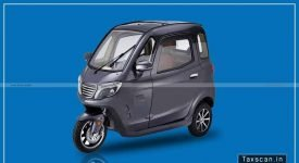 GST - AAR - Electrically operated Motor Vehicle - Taxscan