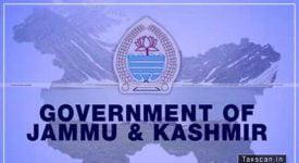 GST - AAR - Irrigation Flood control Department - Govt Jammu Kashmir - Taxscan