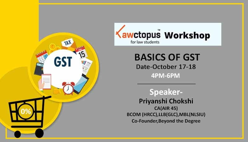 Online Workshop - Basics of GST - GST - Taxscan