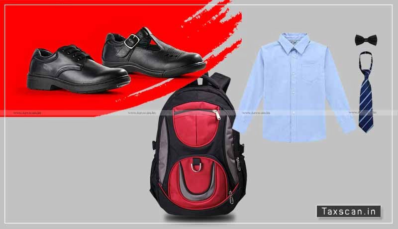 Supply of Dress - School Bag - Boots students - consideration - government - Government Aided schools - exempted - GST - AAR - taxscan