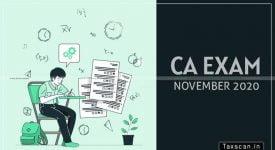 ICAI-CA Exams - Taxscan
