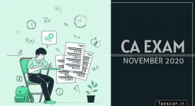 ICAI- November 2020 - Exams - Intermediate - IPC Examination - Nivar cyclone - Taxscan
