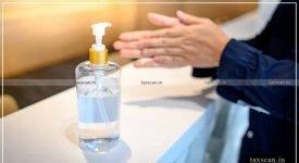 Sanitizer - Classification - HSN Code - Taxscan