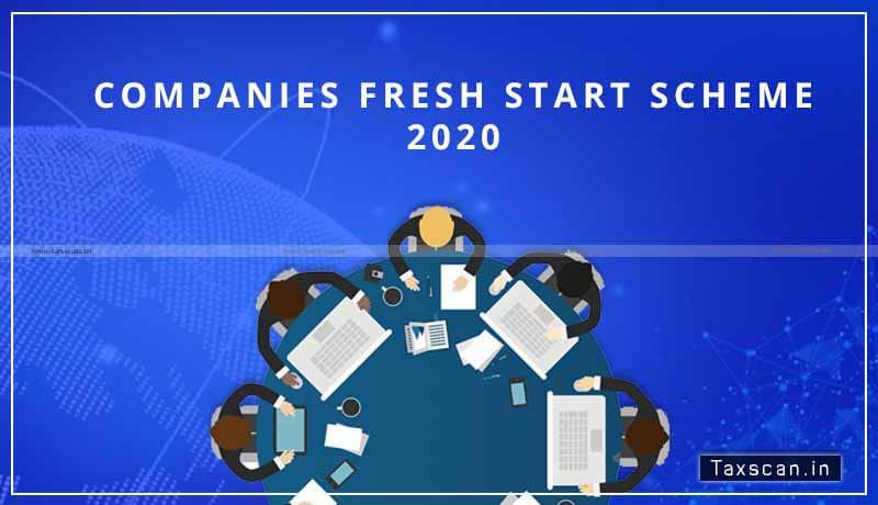 Companies-Fresh-Start-Scheme - MCA - CFSS - MCA Portal - Taxscan