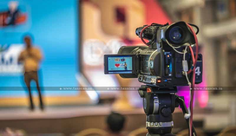 GST - live videography - LED - LCD Screen - Live Telecast equipment - Cameras - Central Govt - AAR - Taxscan