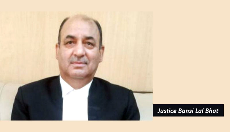 Justice (Retd.) Bansi Lal Bhat - NCLAT - MCA - Chairperson - Taxscan