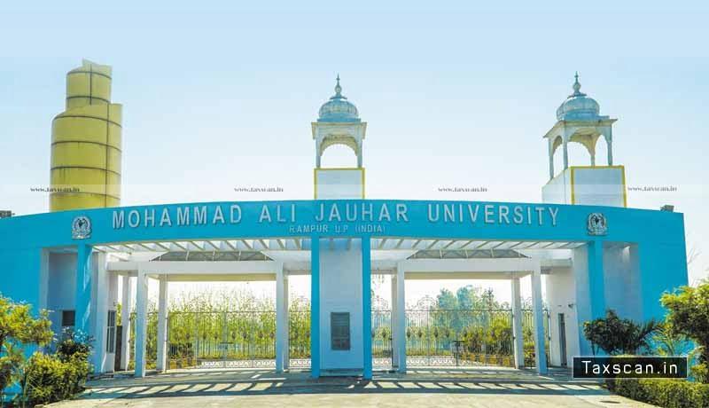 Allahabad High Court - Plea of Mohammad Ali Jauhar University - challenging Penalty - Cess - Taxscan