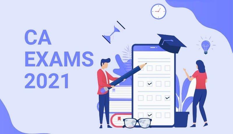 CA Exams 2021 - CA Foundation students - CA Inter - November 2021 Exams - Taxscan