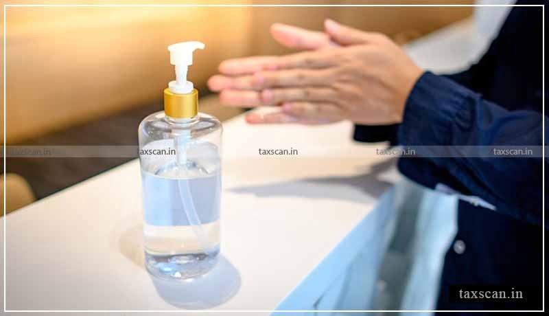 GST - Hand Sanitizer - AAR - Taxscan