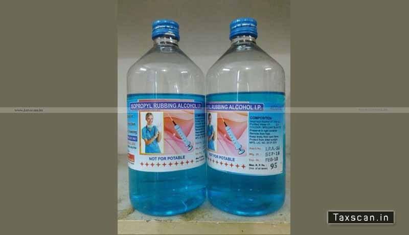 GST - Isopropyl rubbing alcohol IP - Chlorhexidine Gluconate - Isopropyl Alcohol solution - AAR - Taxscan