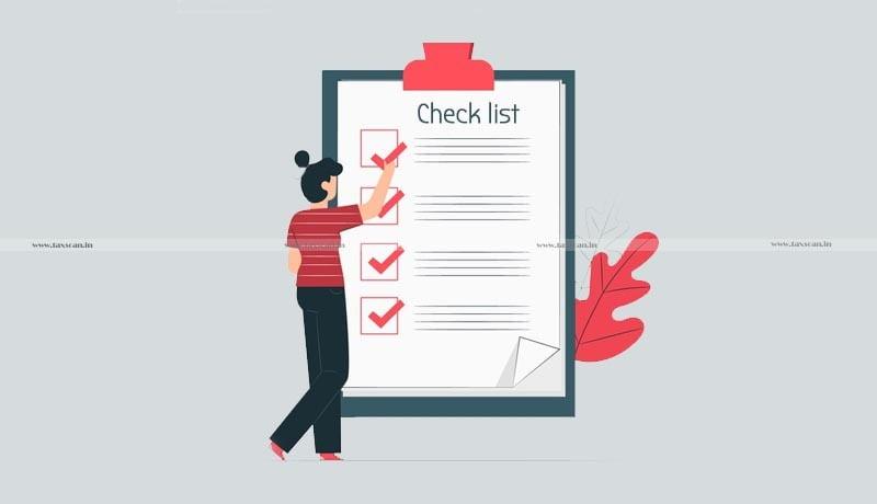GST Year End Checklist - Taxscan