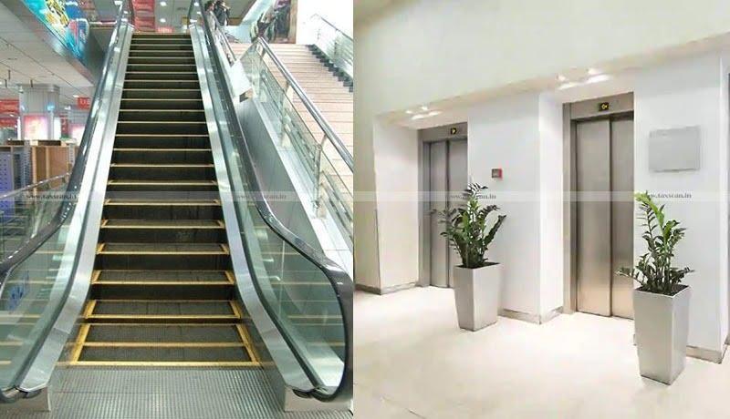 GST - erection & commissioning of lifts - escalators - domestic use - AAR - TaxscanGST - erection & commissioning of lifts - escalators - domestic use - AAR - Taxscan
