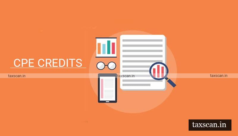 ICSI - extension of time - mandatory CPE Credits - Taxscan