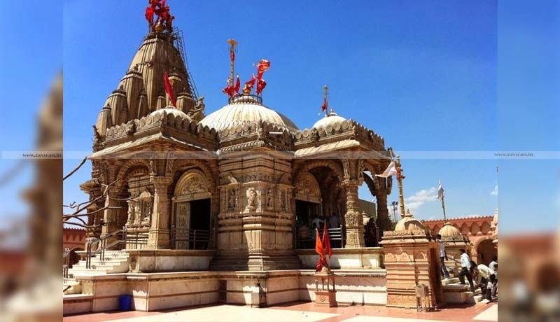 CBDT - deduction us 80G - Maa Umiya Temple - Vishv Umiya Foundation at Jaspur - Taxscan