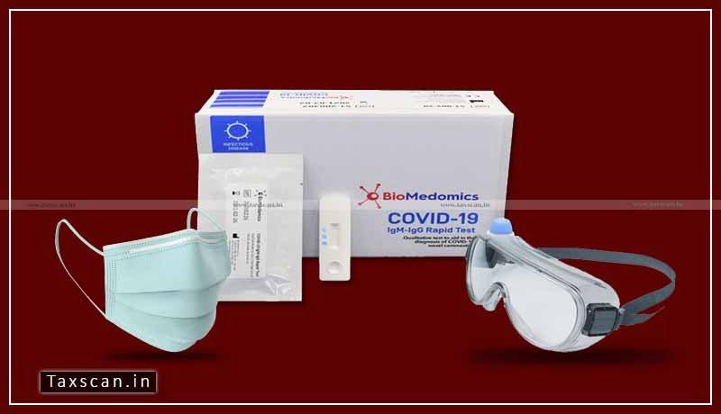 COVID-19 - Custom Duty - Inflammatory Diagnostic - marker - kits - Taxscan