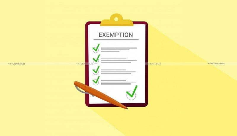 Exemption Notifications - ITAT - taxscan