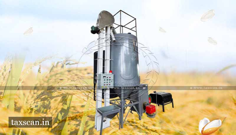 GST - Parboiling Rice - Drying plant - AAR - Taxscan