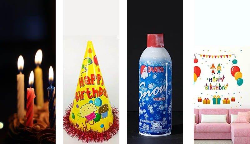 GST - Supply - Birthday Stickers – Candles - Birthday Caps - Snow Sprays - Composite Supply - AAR - Taxscan