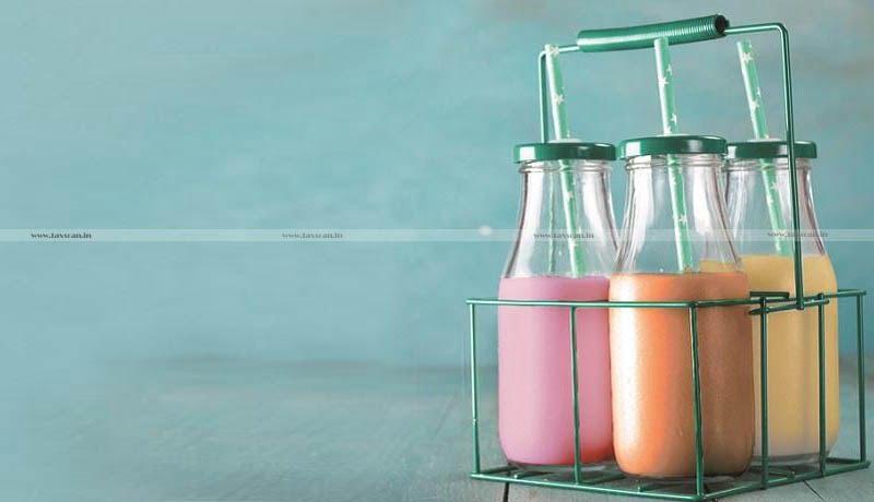 GST - flavoured milk - AAR - Taxscan