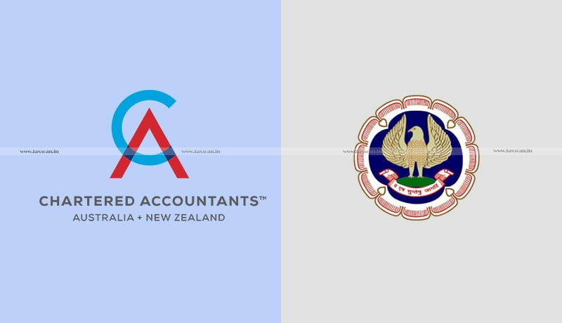MoU - ICAI - Chartered Accountants Australia and New Zealand - Taxscan