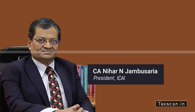 Accounting Standards - ICAI - Non-Company entities - Ind AS - ICAI President - CA Nihar Jambusaria - Taxscan