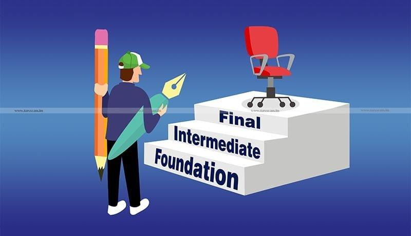 CA Exams June 2021 - ICAI - Correction Window - CA Foundation - Taxscan