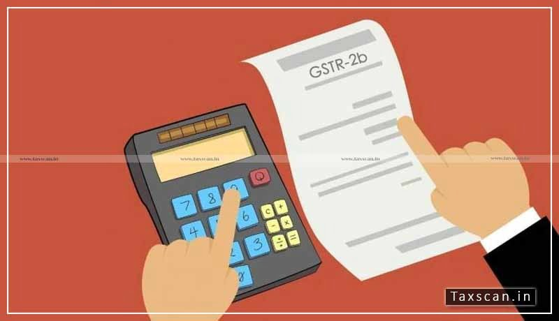 GST - Form GSTR-2B - GSTN - Taxscan