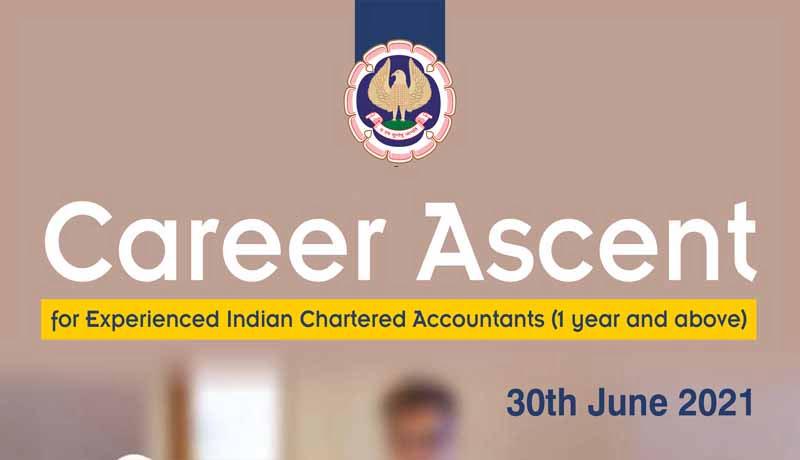 ICAI - Placement Drive - Career Ascent - CAs - Taxscan