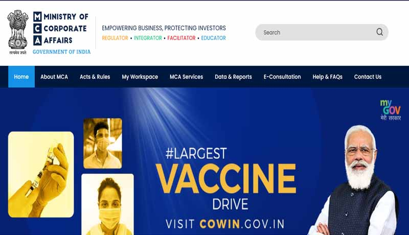 Revamped website - E-Book - E-Consultation Module - MCA - launches 1st Phase of MCA21 Version 3.0 - taxscan