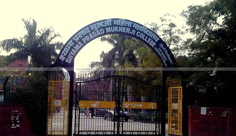 CA - CMA - LLB -vacancy - jobscan - Shyama Prasad Mukherji College -Taxscan