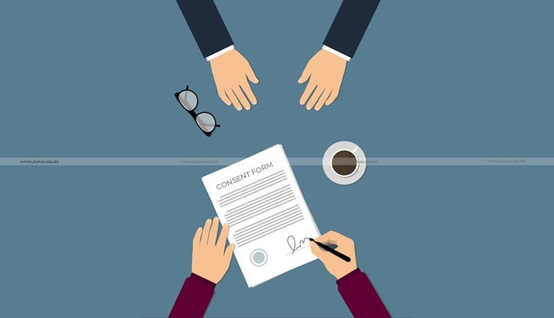 consent form - CA Students - Ca exam - ICAI - Taxscan
