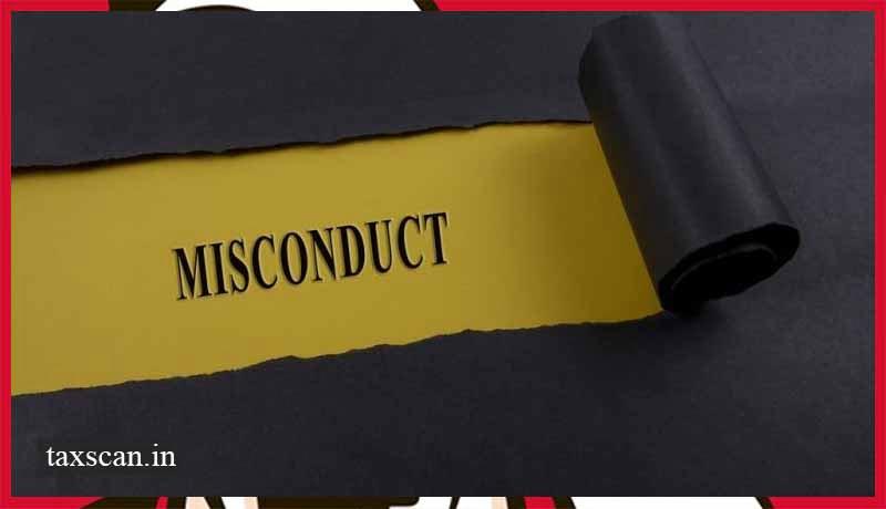 Misconduct - BCI - Taxscan