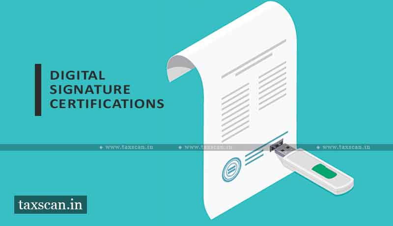 Procedure for Registration of DSC - New Income Tax Portal - taxscan