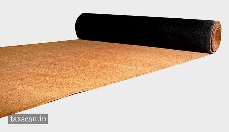 GST - Mats - Matting & Floor Covering of Coir - PVC - Rubber - Latex - AAR - Taxscan
