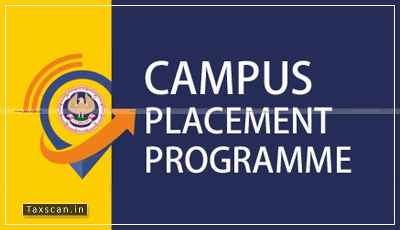 ICAI - Campus Placement Programme - Chartered Accountants - Taxscan