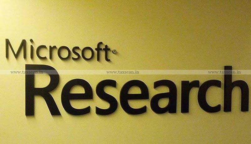 Microsoft Research Lab - CENVAT credit - CESTAT - Taxscan