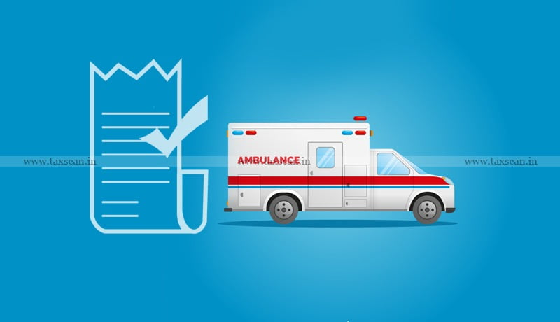 Tripura High Court - Ambulances - E-way bill - Taxscan