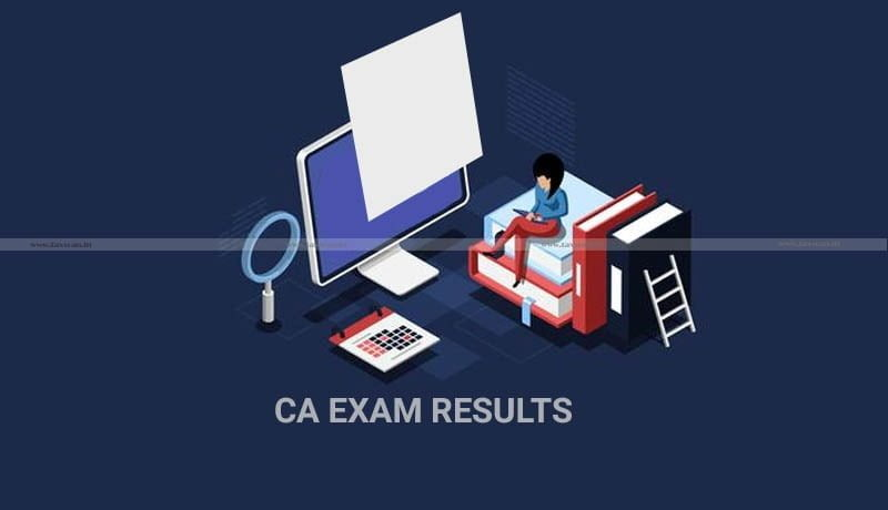 CA Exam Results - CA - ICAI - CA Exam 2021 - Taxscan