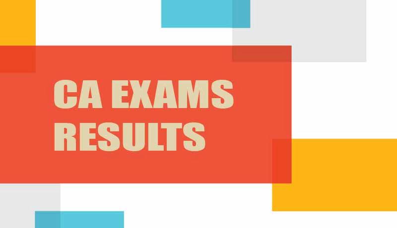 CA Exams 2021 - ICAI - CA Exam Results - Taxscan