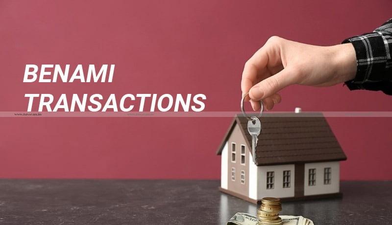 Provisional attachment - Benami Transactions (Prohibition) Amendment Act, 2016 - Benami transactions - Madras High court - Taxscan