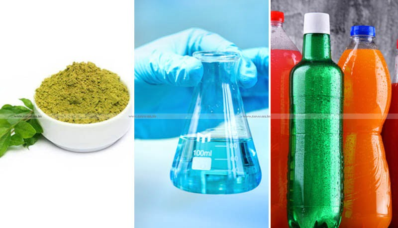 Pure Henna Powder - Laboratory Reagents - Carbonated Fruit Beverages of Fruit Drink - GST Council - Taxscan