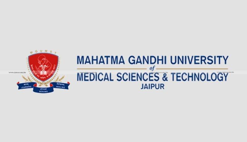 taxpayer - Excise Duty - CESTAT - Mahatma Gandhi University- Mg - Taxscan