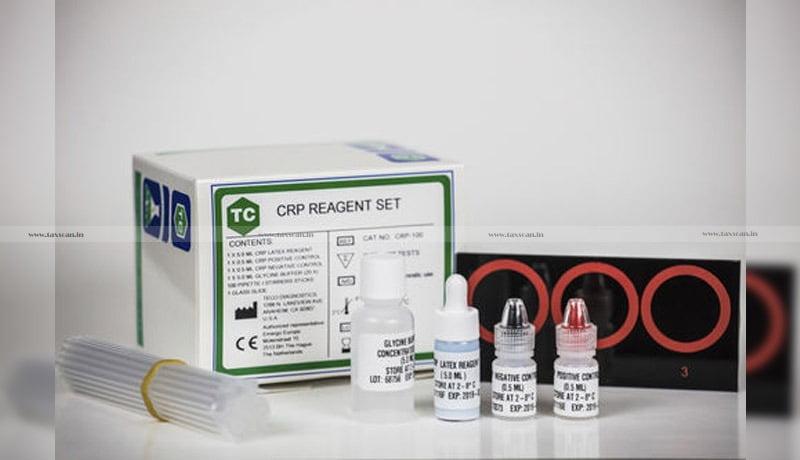 GST - Turbilatex C-reactive protein - CRP - HbA1c - AAR - Taxscan